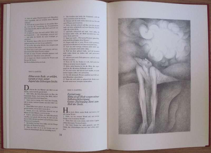 Bilddarstellung:  Das Buch Hiob.