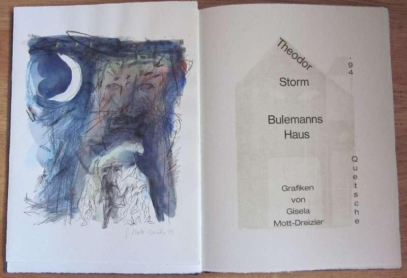 Bilddarstellung: Storm, Theodor Bulemanns Haus