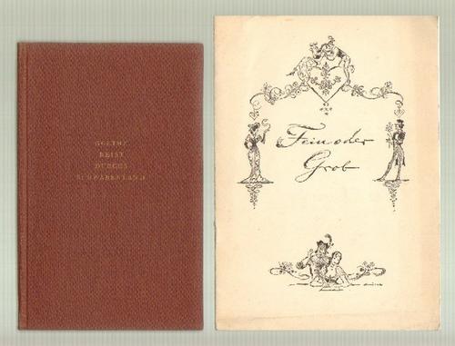 - Goethe reist durchs Schwabenland. Aus Goethes Tagebüchern und Briefen. Hg. von Erika Neuhäuser. Mit Zeichnungen von Fritz  Busse. 2. Aufl. Dazu eine Beigabe.