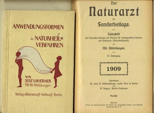- Der Naturarzt. Zeitschrift des Deutschen Bundes der Vereine für naturgemässe Lebens- und Heilweise (Naturheilkunde). Mit der
