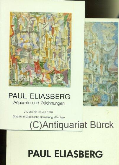 - Paul Eliasberg. Aquarelle und Zeichnungen. Katalog zur Ausstellung. Mit s/w-Abbildungen. Dazu eine Beigabe.