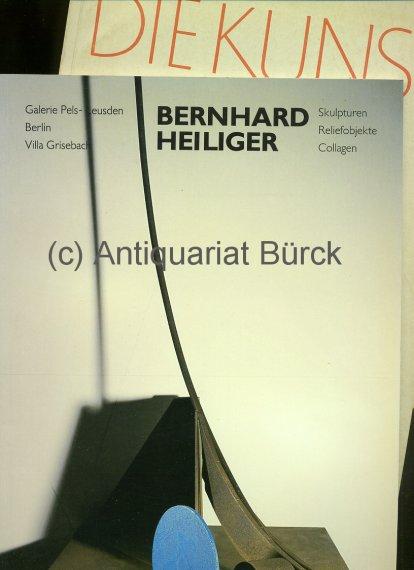 - Bernhard Heiliger. Katalog zur Ausstellung in der Galerie Pels-Leusden. Mit teils farbigen Abbildungen. Dazu eine Beigabe.