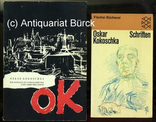 - Oskar Kokoschka. Gemälde, Aquarelle, Zeichnungen. Eine Ausstellung der Nationalgalerie Prag. Katalog zur Ausstellung. Mit  s/w-Abbildungen. Dazu eine Beigabe.