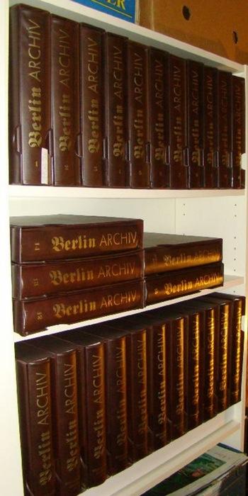 - Berlin Archiv. 27 Bände (15 Bände Standardwerk und 12 Bände Ergänzungs-Edition) mit insgesamt 861 Einzelblättern und 162  Faksimiles in Klarsichthüllen. Unter Mitarbeit von Hans-Werner  Klünner und Helmut Börsch-Supan.