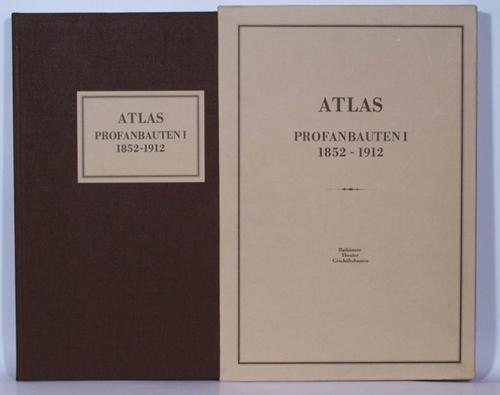 - Atlas Profanbauten I 1852-1912. Rathäuser, Theater und Geschäftsbauten. Bearbeitet für die Herausgabe von Manfred Berger.  Reprint aus den Atlasbänden der
