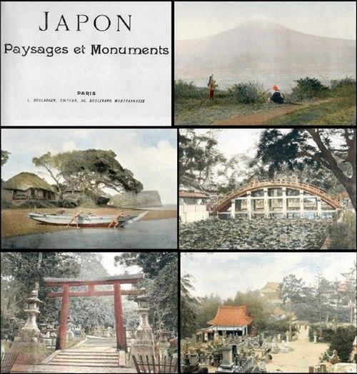 - Autour du monde. Aquarelles, souvenirs, voyages. Fascicule II: Japon. Paysages et monuments. Mit Illustrationen in  Farbendruck [Text Französisch].