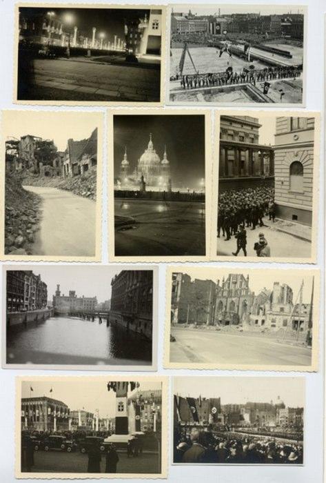 - Sammlung von 21 Originalphotographien aus Berlin. Vintages. Silbergelatine. Dazu drei Doubletten.
