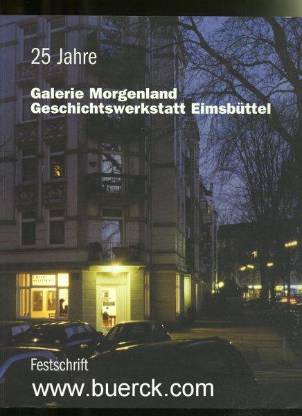 - Fünfundzwanzig Jahre Galerie Morgenland [25 Jahre Galerie Morgenland]. Geschichtswerkstatt Eimsbüttel. Festschrift. Mit  Abbildungen im Text.