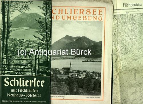 - Zwei Prospekte und eine Karte zu Schliersee und Fischbachau.