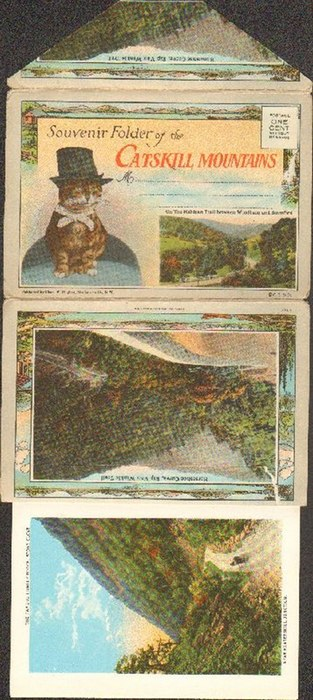 - Souvenir Folder of Catskill Mountains. On the Mohican Trail between Windham and Stamford. Mit 16 farbigen Abbildungen.