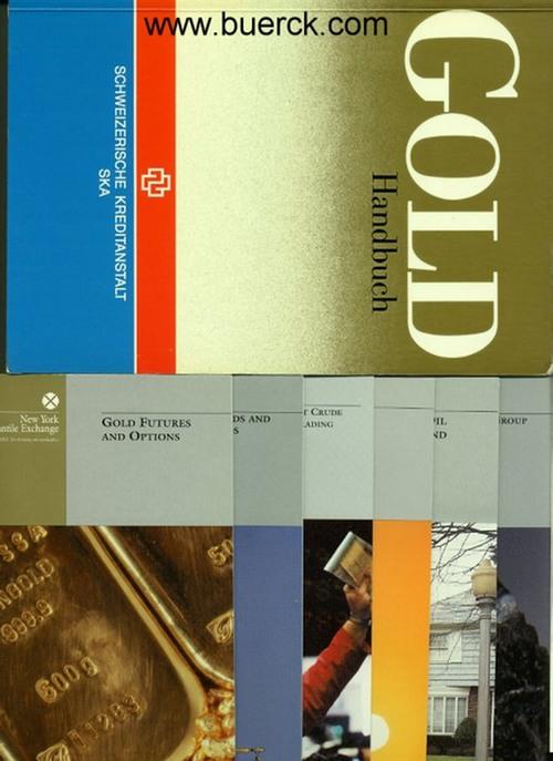 - Gold-Handbuch. Mit zahlreichen Abbildungen. Mit 6 Broschüren als Beigabe.