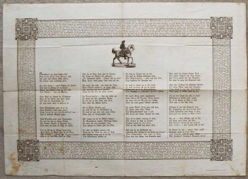 - Einblattdruck: [Bericht von der Grundsteinlegung für das Reiterdenkmal Friedrichs des Grossen von Christian Daniel Rauch in Berlin, Unter den Linden.]